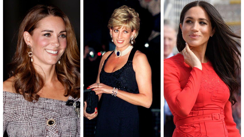 Asemănarea dintre Diana, Kate și Meghan pe care nu ai observat-o până acum