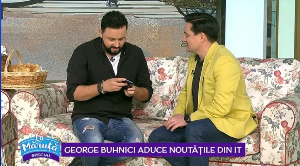 George Buhnici, noutăți din IT