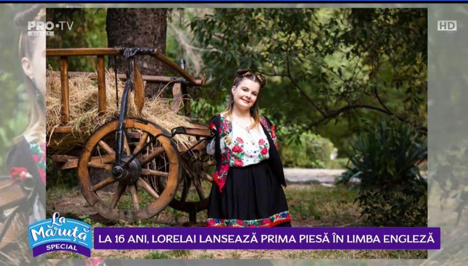 VIDEO La 16 ani, Lorelai lansează prima piesă în limba engleză