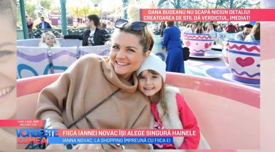 VIDEO Fiica Iannei Novac își alege singură hainele