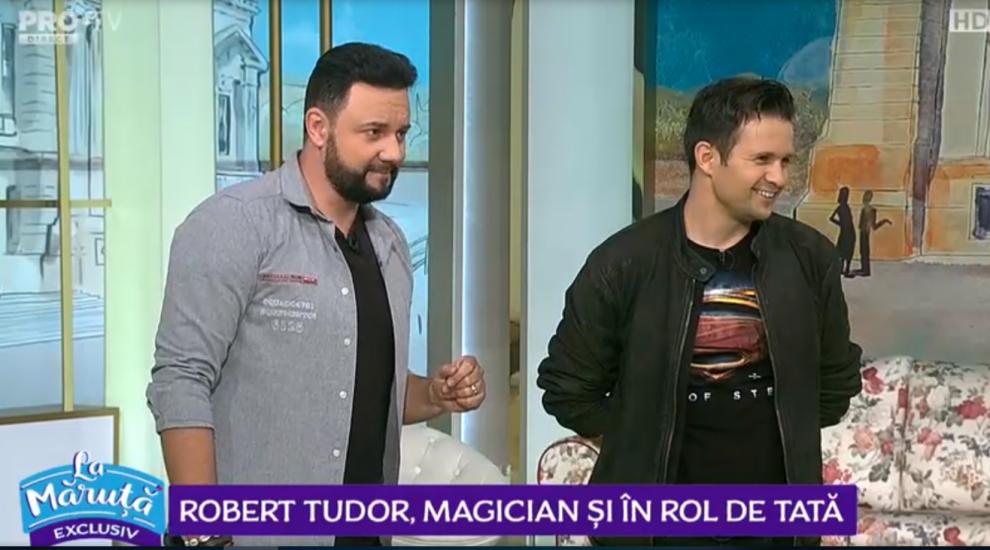 VIDEO Magicianul Robert Tudor, spărgătorul de nunți