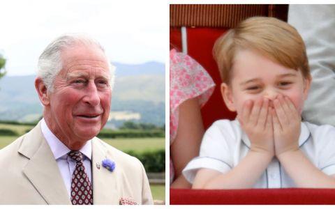 Prințul Charles, cadou special pentru nepotul său de 5 ani, prințul George