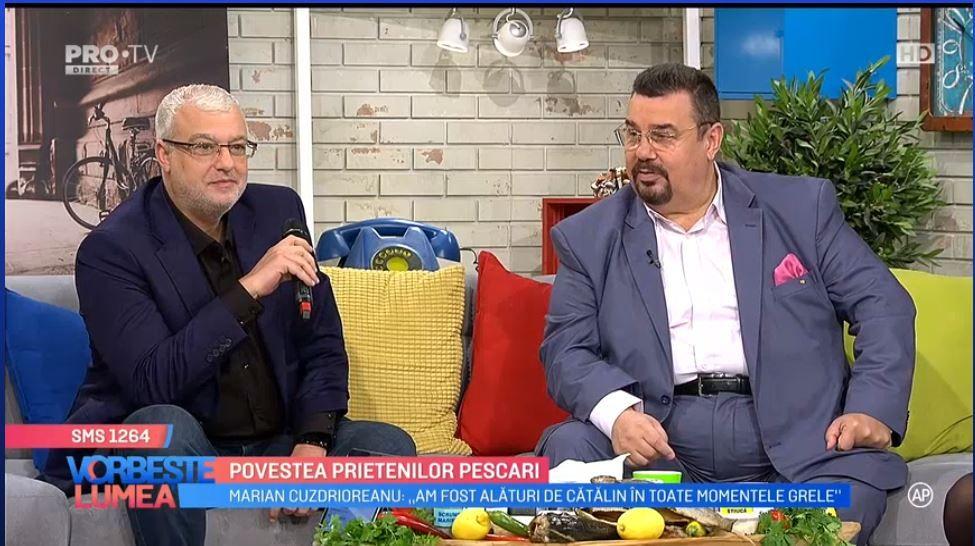 VIDEO Cătălin Crișan și Marian Cuzdrioreanu, povestea prietenilor pescari