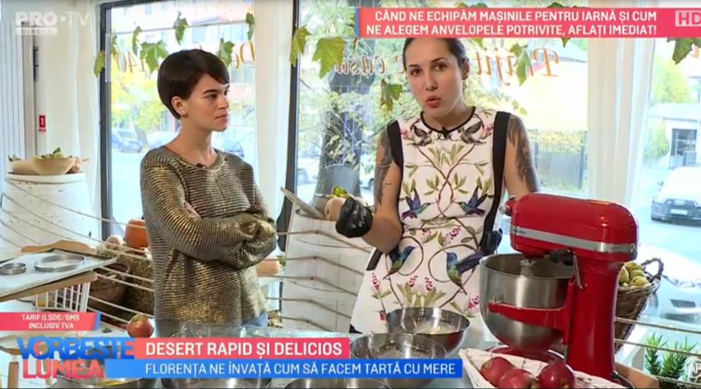 VIDEO Florența a pregătit azi un desert rapid și delicios