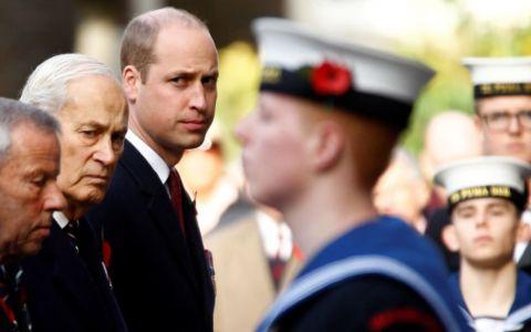 Farsa pe care i-au făcut-o prințului William organizatorii unui eveniment solemn