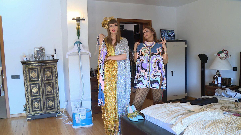 Moda în showbiz şi în România nu rămâne la fel! Iulia Albu Face  Pressing la Dressing !