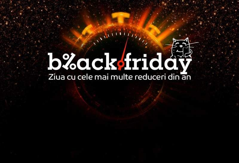 Black Friday 2018: ce găsești la eMAG de Black Friday