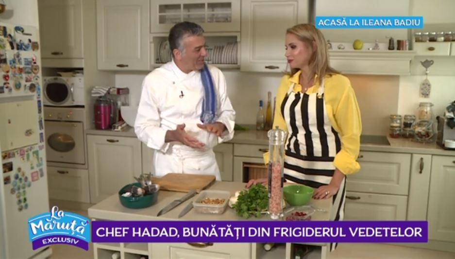VIDEO Chef Hadad, ia la control frigiderul vedetelor