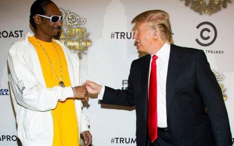 Snoop Dogg, noul erou al americanilor. L-a înjurat pe Donald Trump în fața Casei Albe