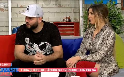 VIDEO Lora și iubitul lămuresc zvonurile din presă