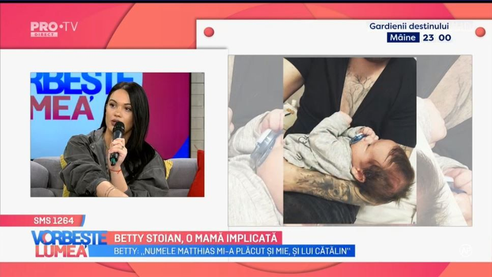 VIDEO Betty Stoian, o mamă implictă