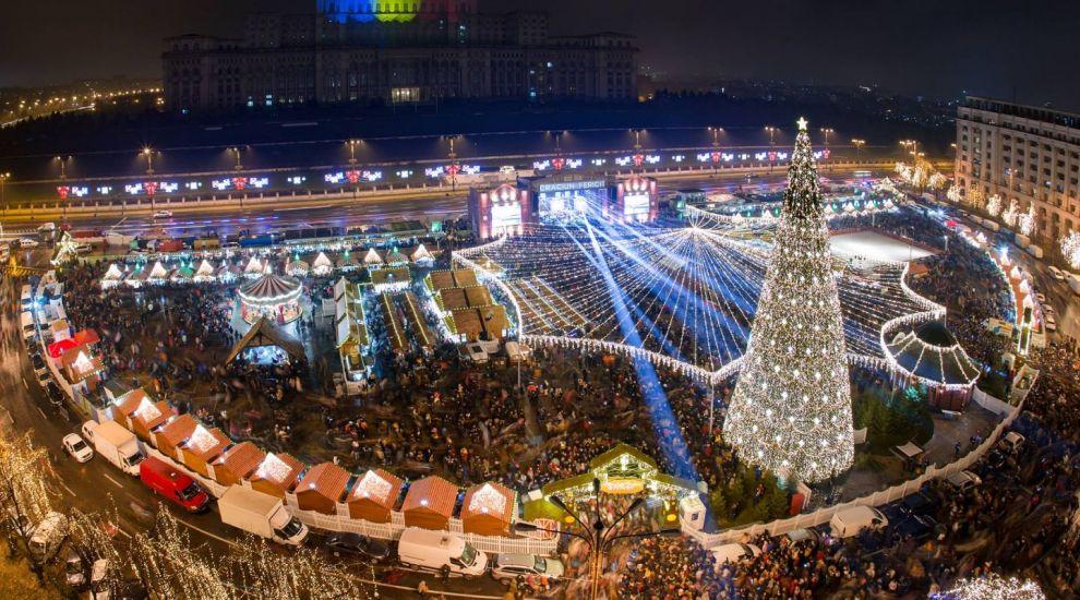 Se deschide târgul de Crăciun al Bucureștiului. Da, vin sărbătorile