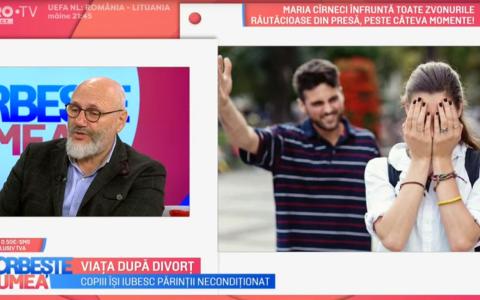 VIDEO Viața după divorț explicată de dr. Cristian Andrei