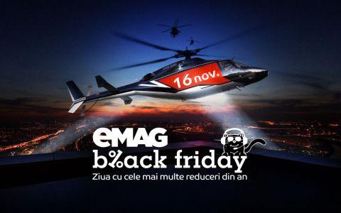 Ce au cumpărat românii de Black Friday 2018 de la eMAG. Magazinul a suplimentat promoțiile
