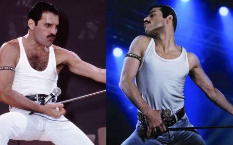 VIDEO Ce bine îl imită Rami Malek pe Freddie Mercury în filmul Bohemian Rhapsody!