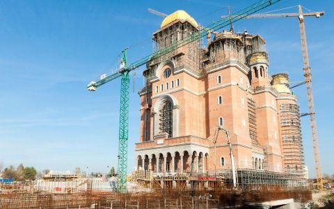 Catedrala Mântuirii Neamului, sfințită la 25 noiembrie. Câți oameni vor participa la eveniment