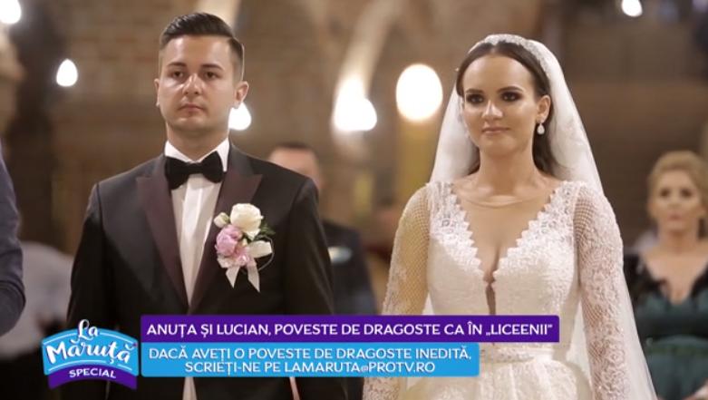 """VIDEO Anuța și Lucian, poveste de dragoste ca în """"Liceenii"""""""