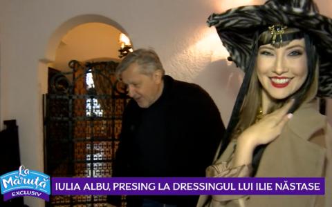 VIDEO În timp ce Brigitte se mărită, Ilie se reinventează! Iulia Albu, Presing la dressingul lui Ilie Năstase!