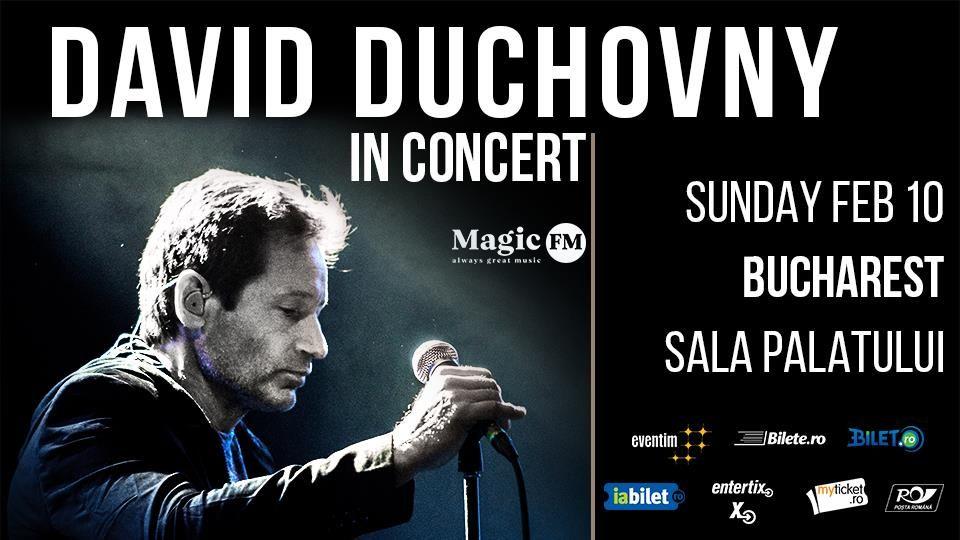 Cât te costă să-l întâlnești față în față pe David Duchovny. Actorul din  Dosarele X  vine la București