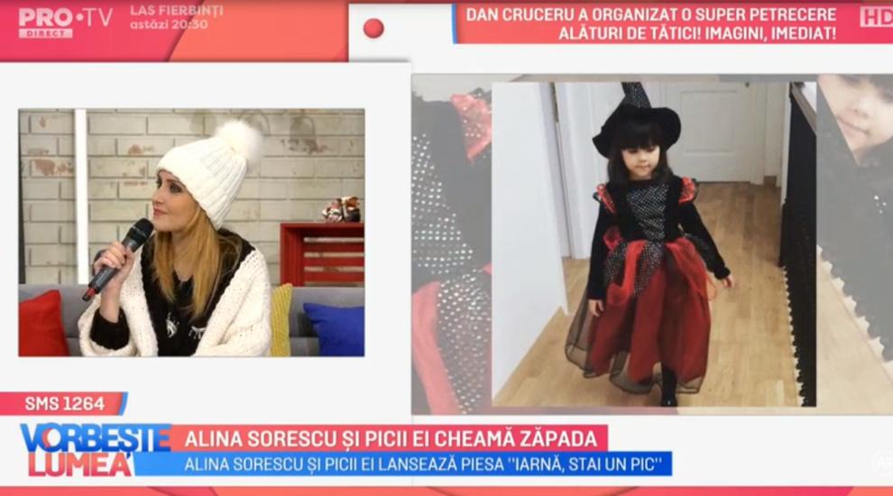 VIDEO Alina Sorescu și picii ei cheamă zăpada