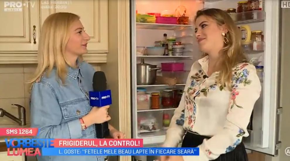 VIDEO Frigiderul, la control alături de Lavinia Goste