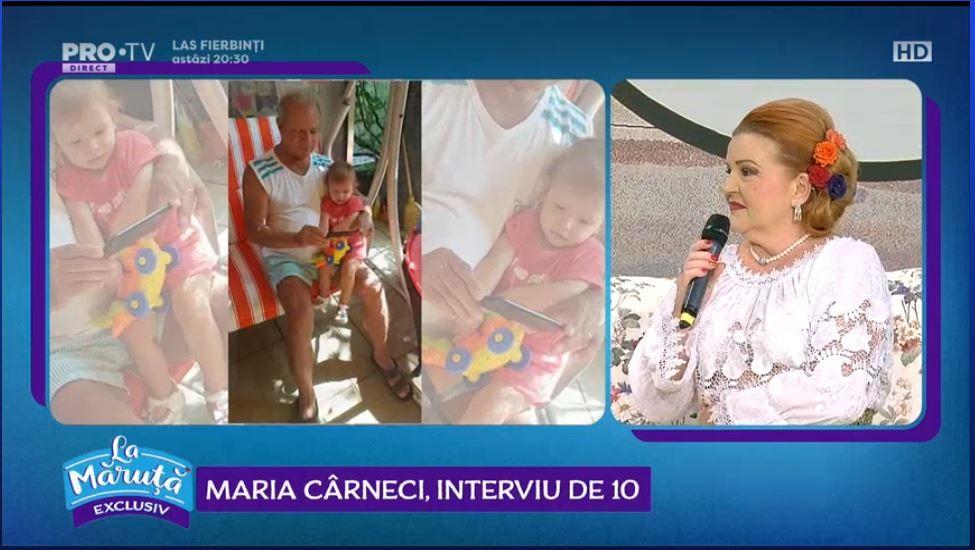 VIDEO Interviu de 10 cu Maria Cârneci
