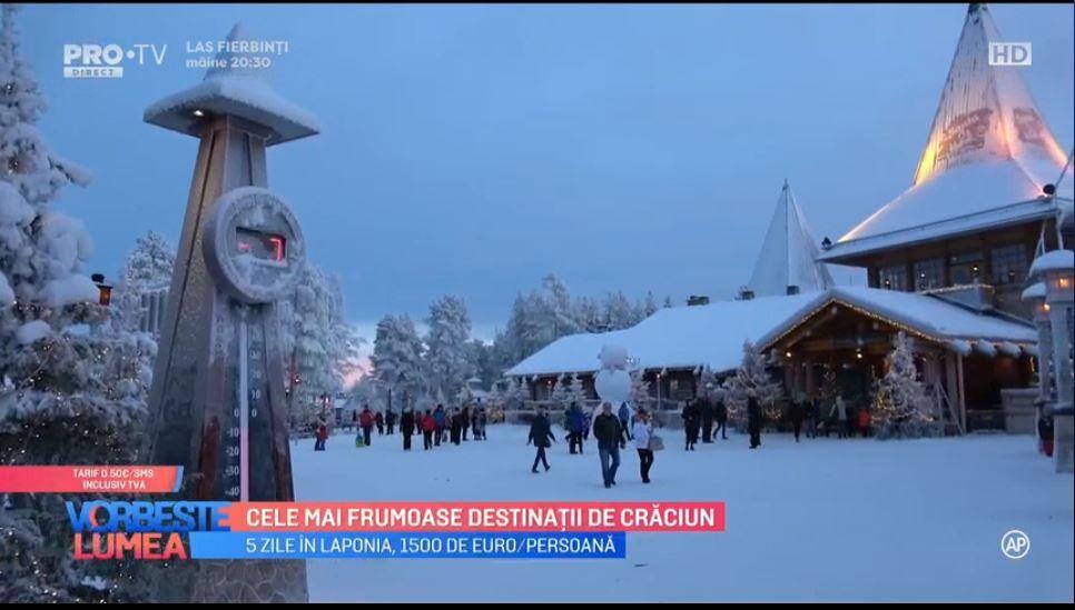 VIDEO Cele mai frumoase destinații de Crăciun