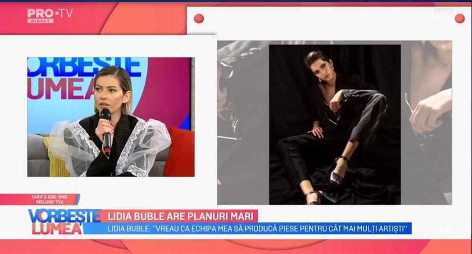 VIDEO Lidia Buble are planuri mari! Artista lucrează la un nou concept de show live
