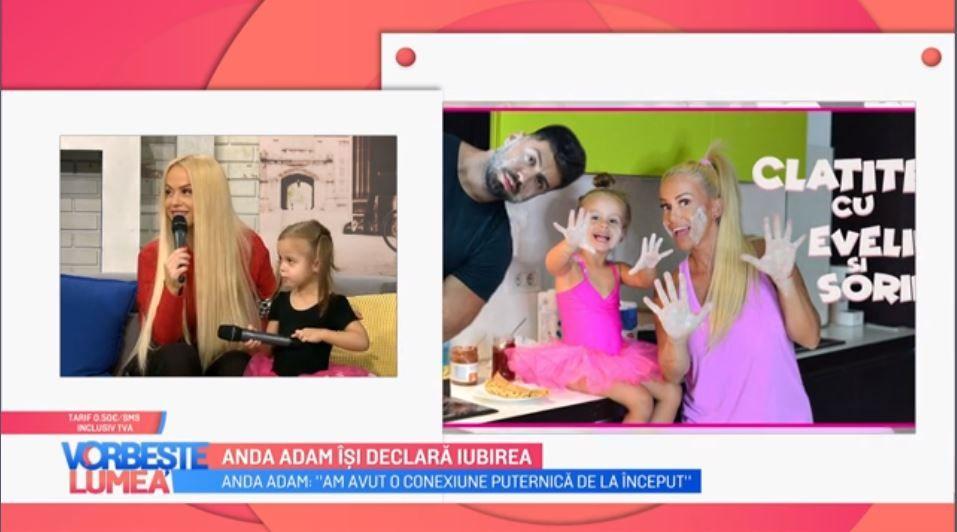 VIDEO Anda Adam, declarație inedită pentru soț