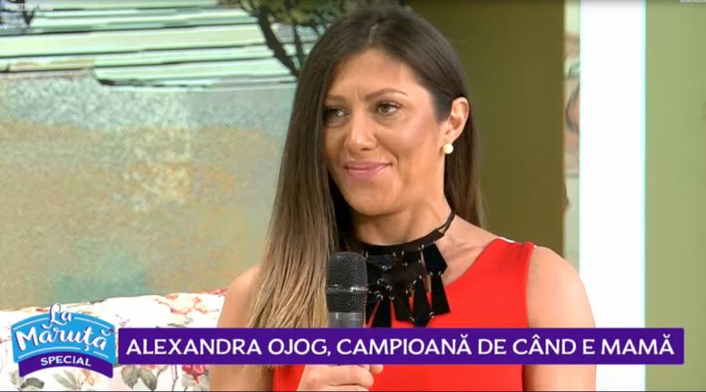 VIDEO Alexandra Ojog, campioană de când a devenit mamă