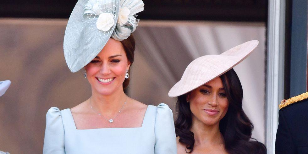 Kate Middleton a pus capăt zvonurilor potrivit cărora nu o suportă pe Meghan Markle