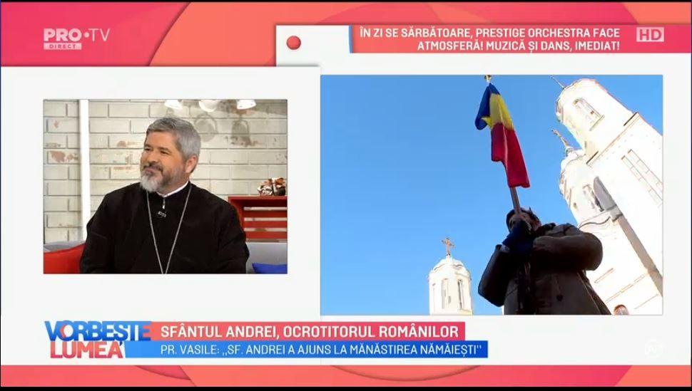VIDEO Părintele Vasile Ioana, despre Sfântul Andrei