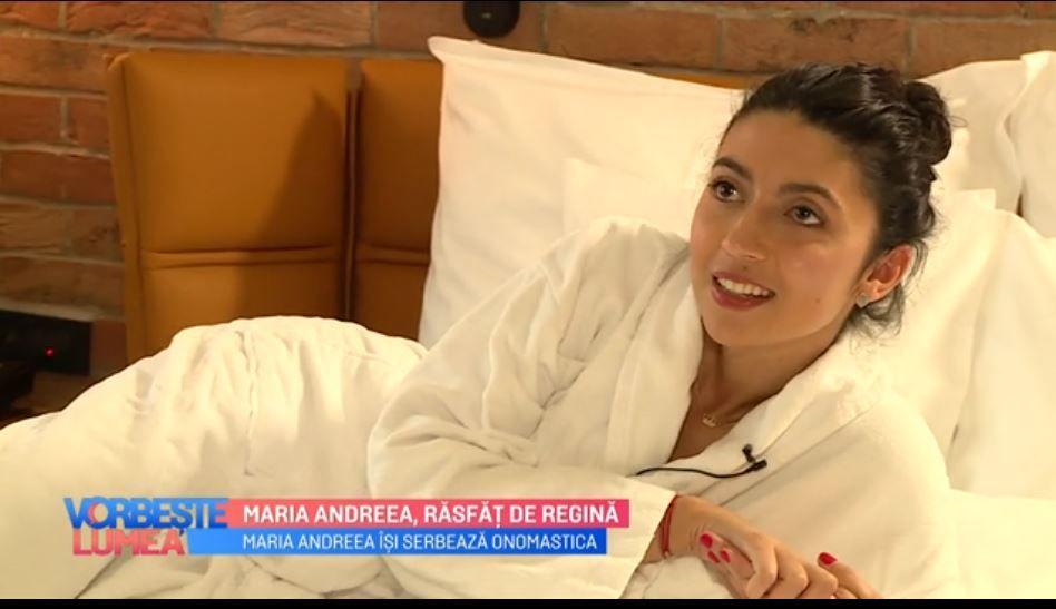 VIDEO Maria Andreea, răsfăț de regină