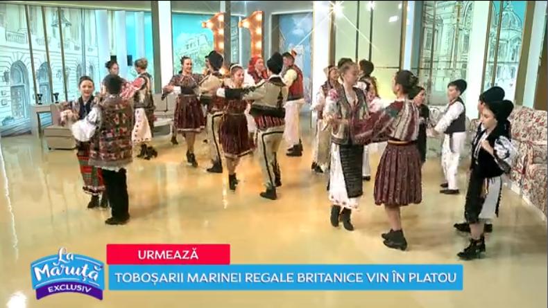"""VIDEO """"Cheile Oltețului"""" refac România Mare prin dans"""