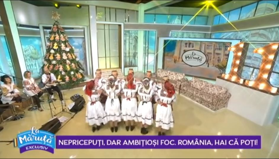 VIDEO Dans și voie bună în platoul La Măruță