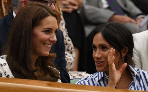 Zvonurile potrivit cărora Kate și Meghan s-ar urî au ajuns la urechile Reginei. Ce decizie a luat aceasta