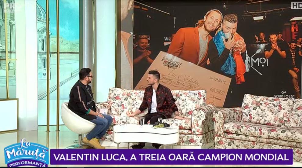 VIDEO Valentin Luca, locul întâi la campionatul mondial al barmanilor