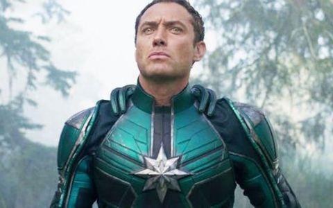 A fost lansat trailerul filmului  Captain Marvel . Ce personaj controversat va interpreta Jude Law