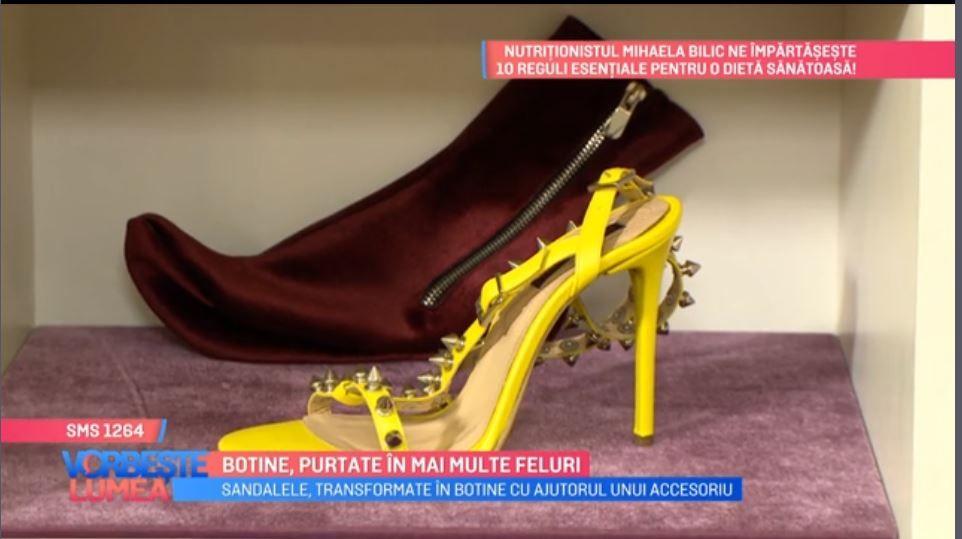 VIDEO Sandalele, transformate în botine cu ajutorul unui accesoriu