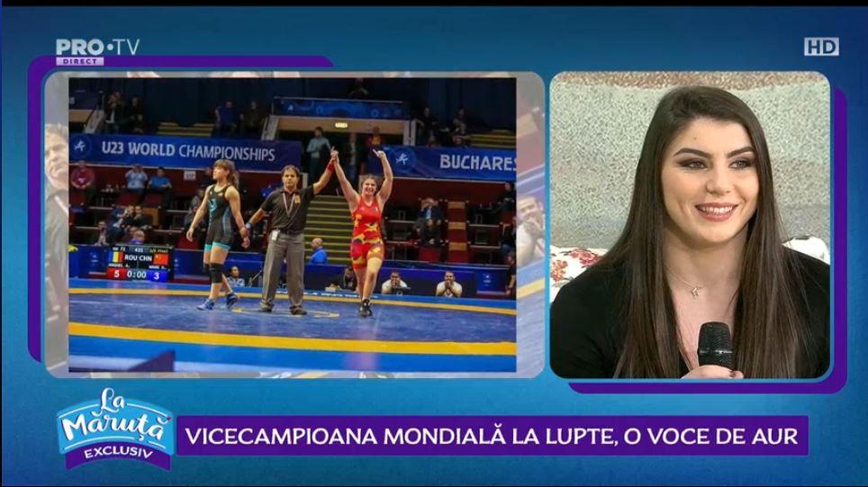 VIDEO Alexandra Anghel, vicecampioană mondială la lupte