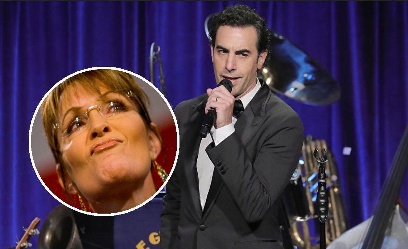 Sacha Baron Cohen, propunere indecentă pentru Sarah Palin: Sper că veți accepta...