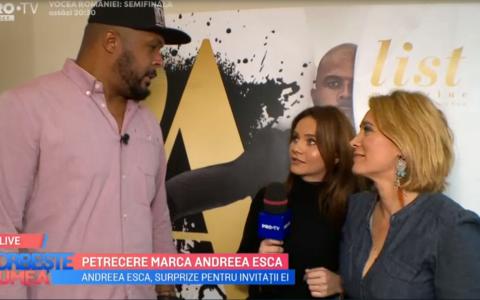 VIDEO Petrecere marca Andreea Esca. Cum s-a desfășurat evenimentul  Alist