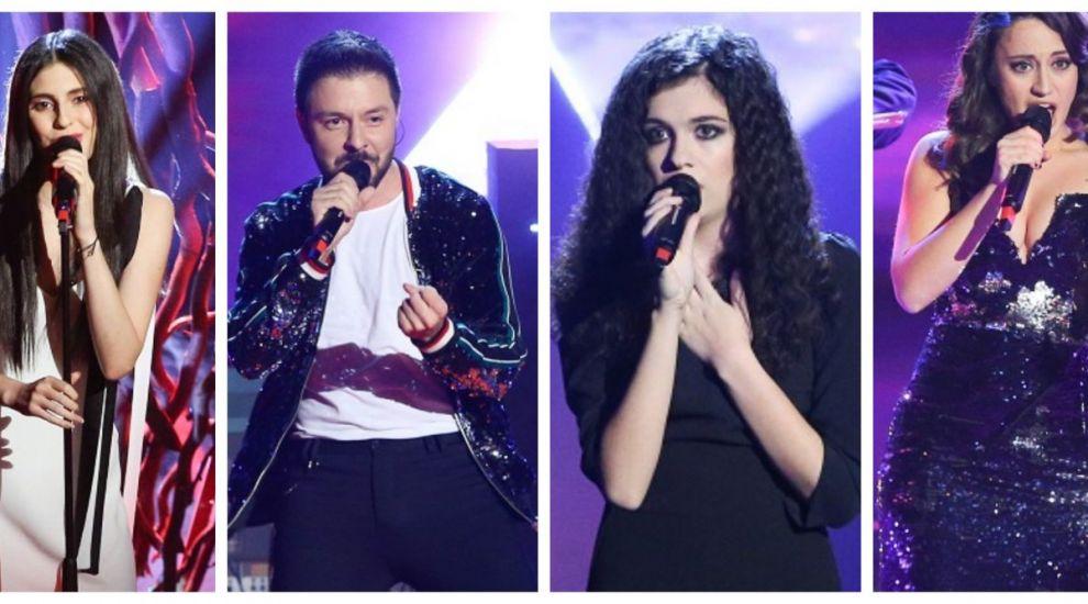 Alma Boiangiu, Dora Gaitanovici, Mădălina Coca și Bogdan Ioan, finaliștii sezonului 8 Vocea României
