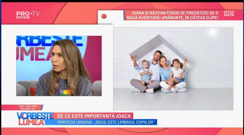 VIDEO Prințesa Urbană ne explică de ce este importantă joaca pentru copii