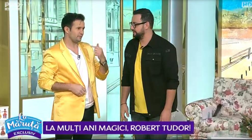VIDEO La mulți ani magici, Robert Tudor