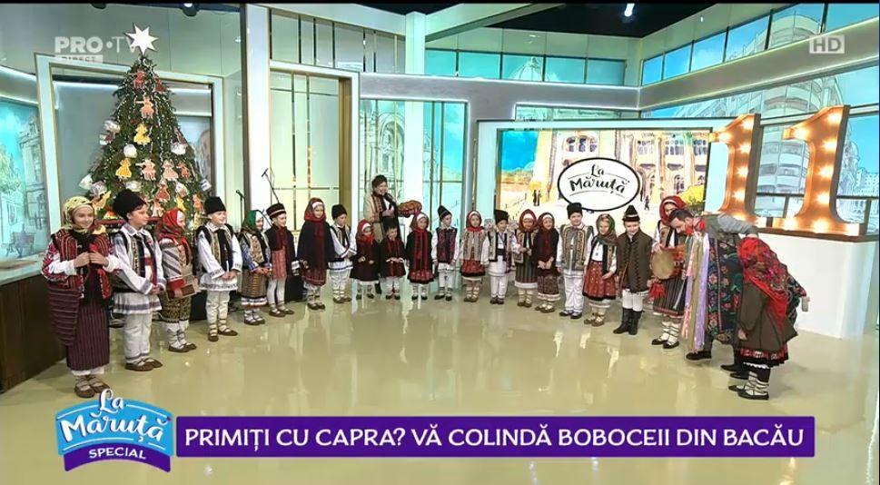 """VIDEO Joc și voie bună """"La Măruță"""""""