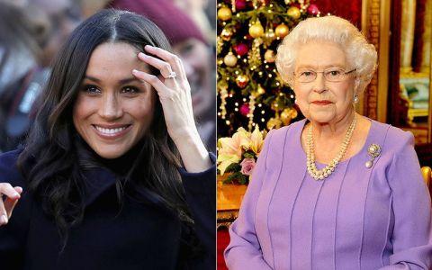 Regina o pune la punct pe Meghan Markle