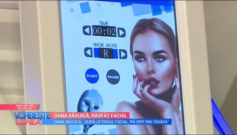VIDEO Dana Săvuică ne dezvăluie un nou tratament facial de lifting