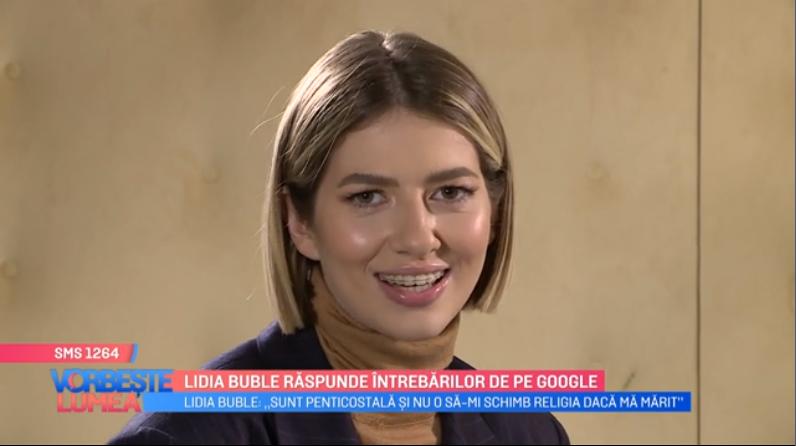 VIDEO Lidia Buble răspunde întrebarilor de pe Google
