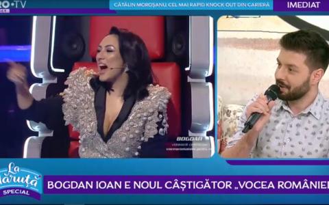 VIDEO Bogdan Ioan este noul câștigător Vocea României
